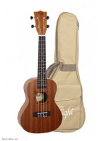 Concert Ukulele With Bag Flight NUC310 Nat