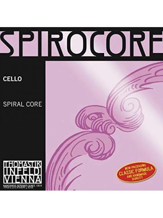 THOMASTIK S793 SPIROCORE CELLO STRING C 3/4