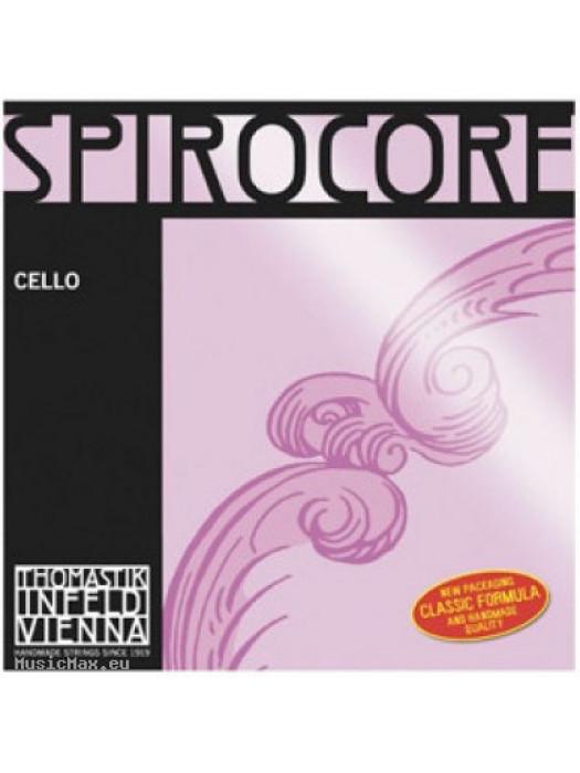 THOMASTIK S28 Spirocore G 4/4 Cello Single String