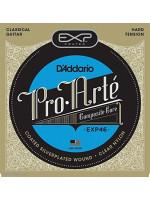 DADDARIO EXP46 COATED CLASSIC GUITAR STRINGS HARD TENSION 29-46