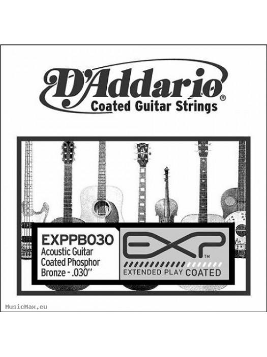 DADDARIO EXPPB030 COATED PHOSPHOR BRONZE SINGLE STRING 030