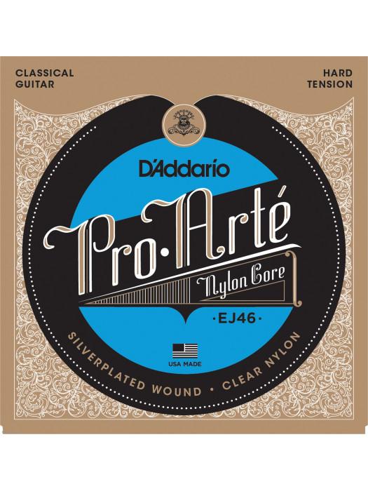 Klasszikus gitárhúrok D'ADDARIO EJ46 29-44 SET PRO-ARTE CLR/SI/ EJ