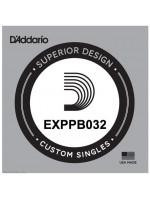 DADDARIO EXPPB032 COATED PHOSPHOR BRONZE SINGLE STRING 032