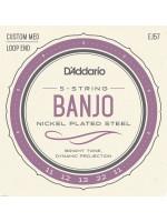 Banjo Strings Daddario EJ57 11-22