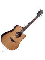 LAG T100DCE TRAMONTANE 100 CUTAWAY ACOUSTIC-ELECTRIC NAT