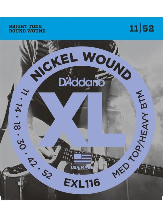 DADDARIO EXL116 SET ELEC GTR XL 11-52