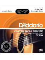 DADDARIO EXP10 SET ACOUS EXP 80/20 10-47