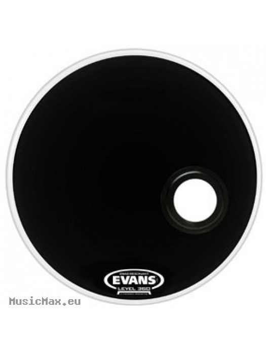 Bass Drum Head EVANS BD20REMAD RESONANT EMAD BASS 20 BLACK/ BD20