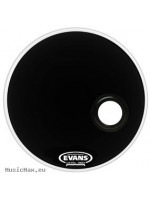 Bass Drum Head EVANS BD24REMAD RESONANT EMAD BASS 24 BLACK/ BD24