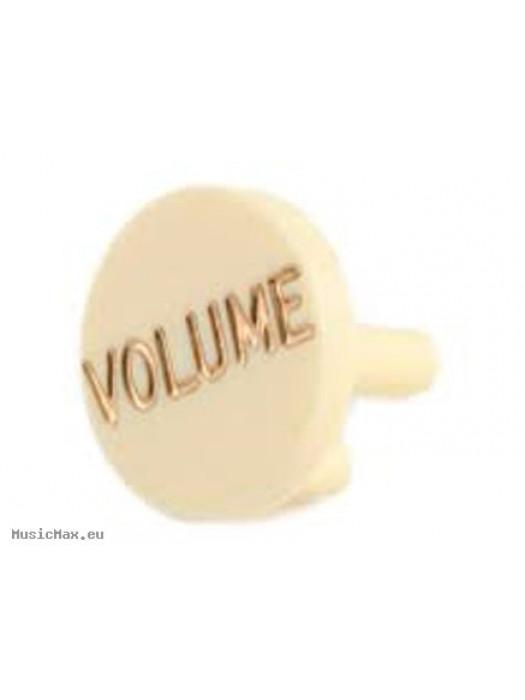 Guitar Knob FENDER SW CAP SPSH STRAT AGED WHITE/ WHITE