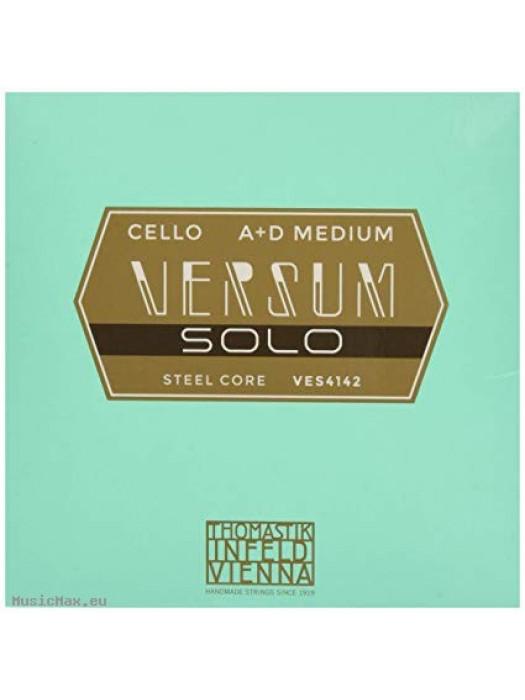 THOMASTIK VES4142 Versum Solo A+D Cello Strings