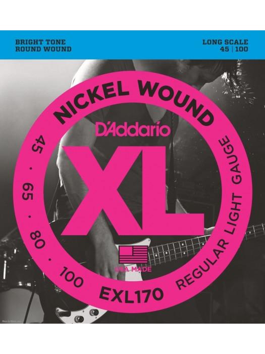 DADDARIO EXL170 SET BASS XL 45-100 LONG