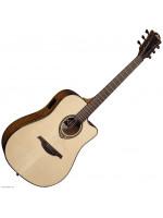 Electro Acoustic Guitar Lag T318DCE