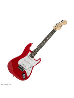 FLIGHT EST11 MINI ELECTRIC GUITAR 3/4 TRD