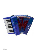 Accordion Goldencup UC104 BLUE