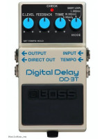 BOSS DD3T DIGITAL DELAY EFFECTS