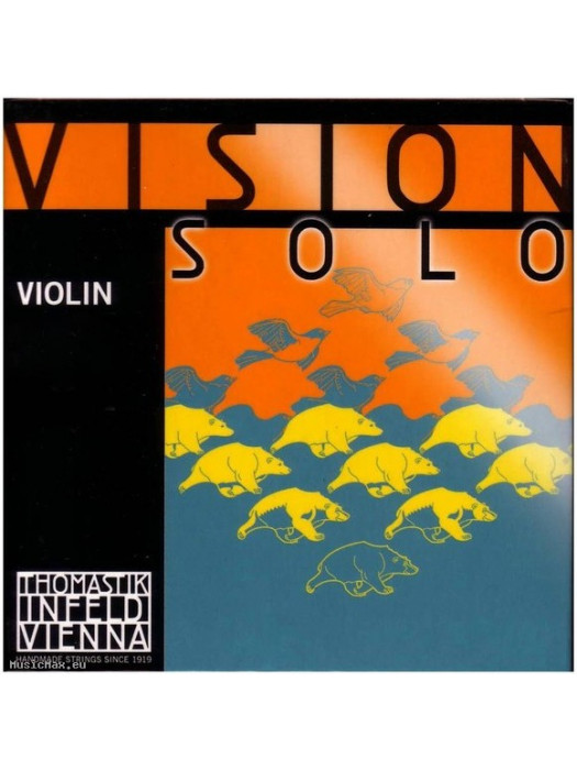 THOMASTIK VIS04 Vision Solo G 4/4 Violin Single String