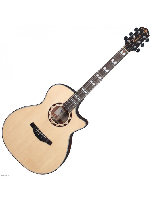 CRAFTER HG-620CE/N Nat Electro Acoustic Guitar with Bag