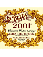 LA BELLA 2001 CLASSIC GUITAR STRINGS X-HARD