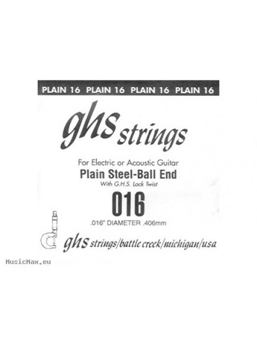 GHS SINGLE PLAIN BALLEND 016