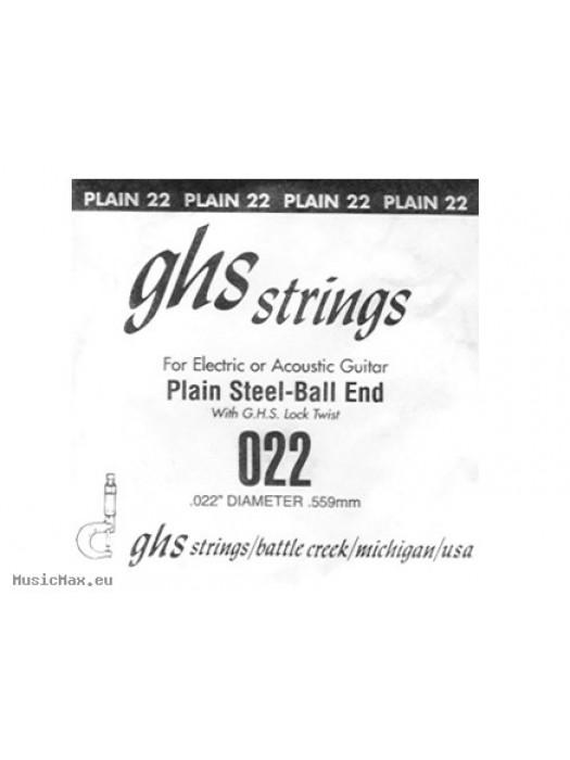 GHS SINGLE PLAIN BALLEND 022