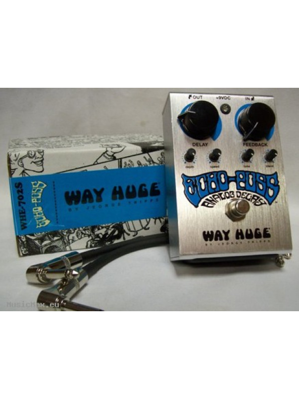 WAY HUGE WHE702S ECHO PUSS STD ANALOG DELAY EFFECT PEDAL