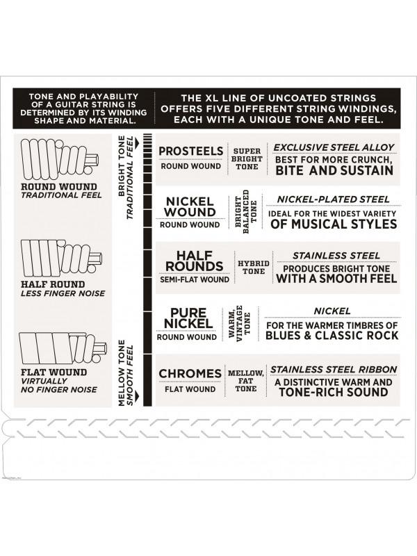 Flatwound Bass Guitar Strings Daddario ECB81-5SL 45-132 5STR