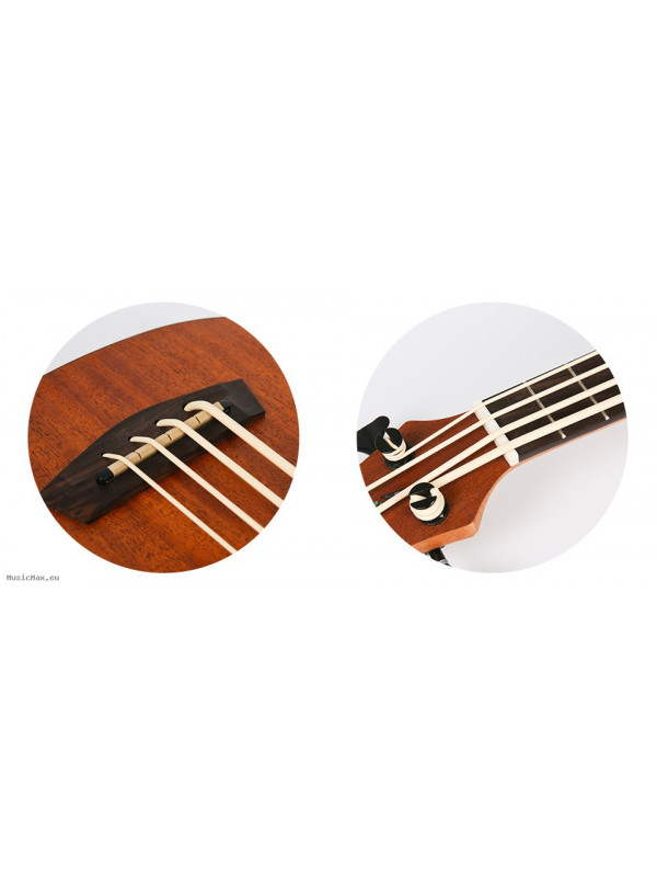 Ukulele Bass FLIGHT GUITARS DU-BASS MAH/MAH BASS UKULELE/ NAT