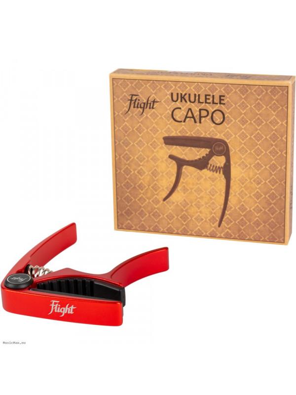 FLIGHT FC-RD Red Ukulele Capodaster