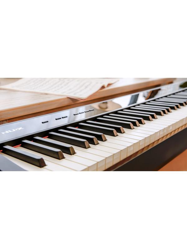 NUX NPK-10 + NPS-1 Blk Stage Piano Bundle