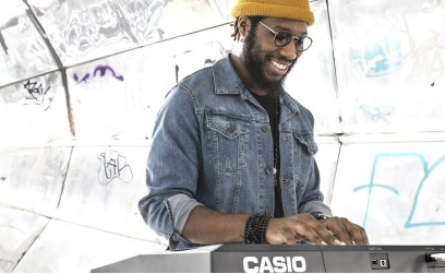 Cory Henry on a CASIO CT-X5000 keyboard