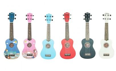 Veston Colored ukulele