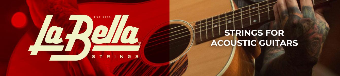 La Bella Acoustic guitar strings