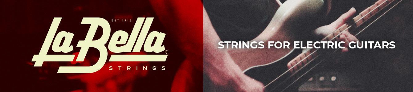 La Bella electric guitar strings