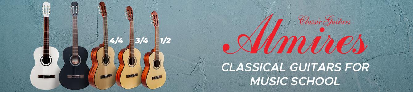 Almires classical guitars