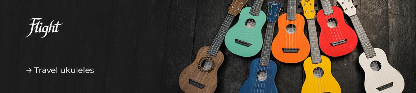 Flight travel ukuleles